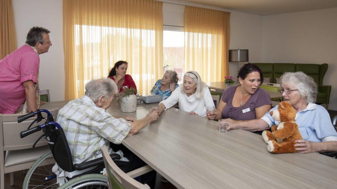 «Wohlbefinden hat sich sofort verbessert»: Wohngruppe für Demente eingeweiht
