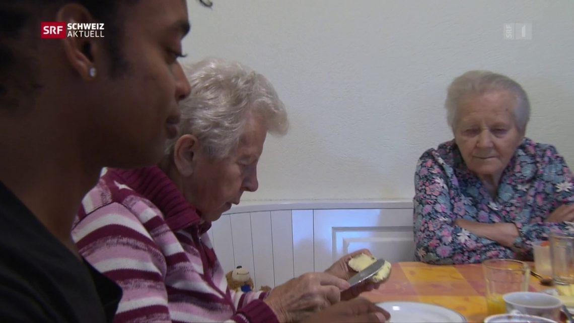 Pflege im Alter - Der gewöhnliche Alltag in der «Demenz-WG»
