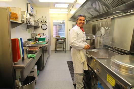 Eine moderne Küche für das AZ Herzogenmühle