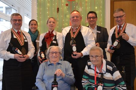 Ein Fuder Wein für das Pflegeheim Sennhof
