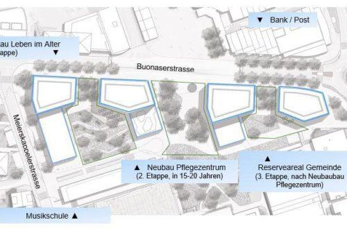 Städtebauliches Konzept des Siegerprojekts