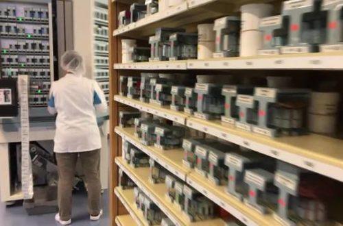 Neu in Plastikfoliensäcklein und beschriftet – Medikamente werden nicht mehr vom Arzt abgegeben