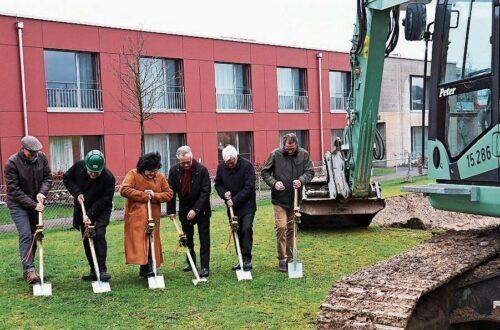Münchwiler Alterszentrum Tannzapfenland startet dritte Bauetappe