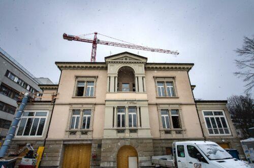 Die Villa Jacob in St.Gallen verwandelt sich in ein Sterbehospiz