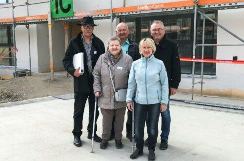 Im Münchwiler Wohnpark Rebenacker ist das erste Haus bald bezugsbereit