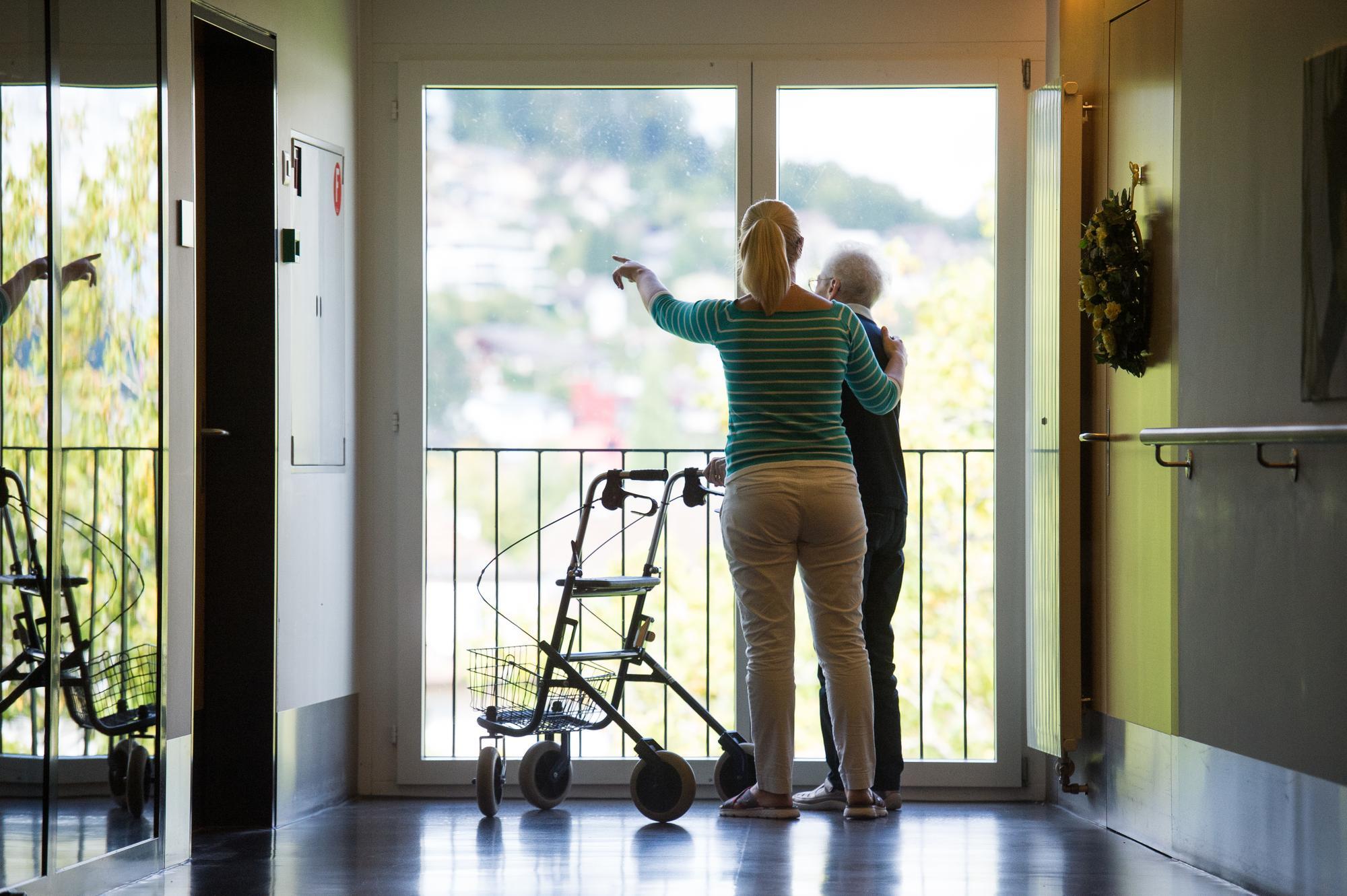 pflegeheime in der region luzern weniger bewohner und. Black Bedroom Furniture Sets. Home Design Ideas