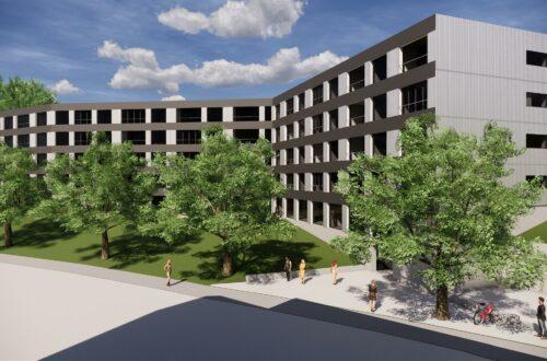 Erste Visualisierung: So sieht das neue Alterszentrum im St.Galler Riethüsli aus