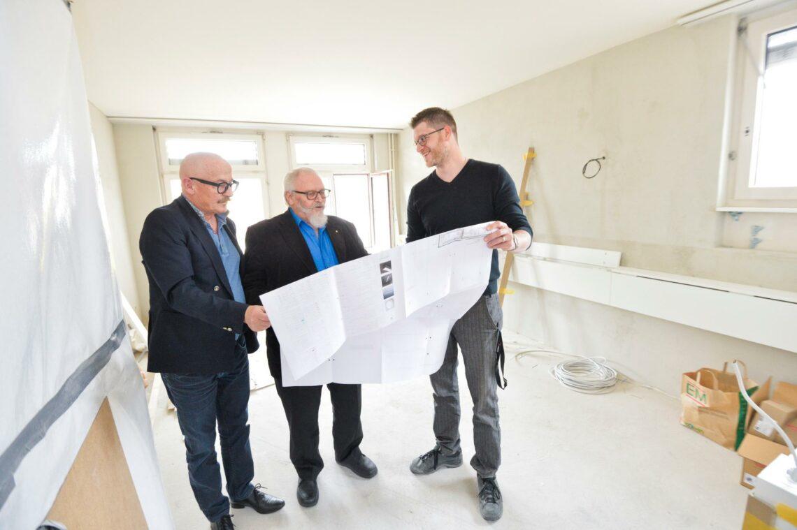 Sanierungsarbeiten im Bischofszeller Alters- und Pflegeheim Sattelbogen