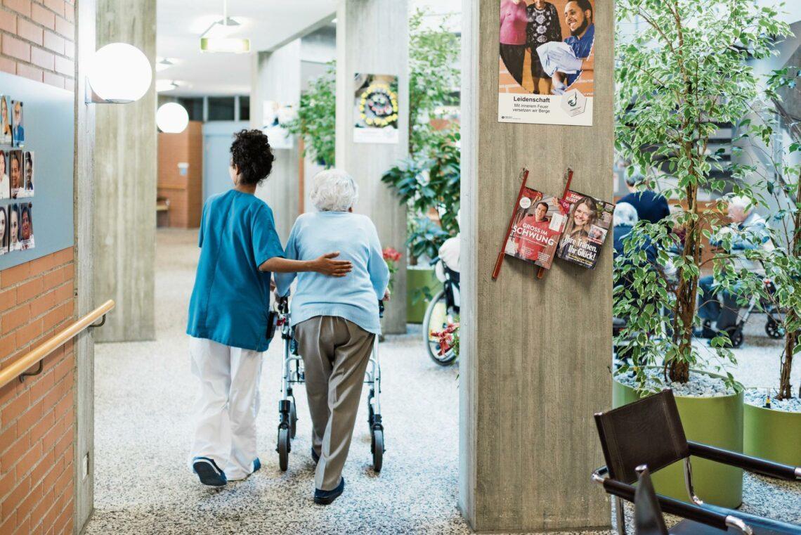 Neues Pflegeheim für Gais geplant