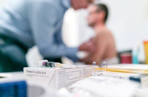 Grippe: Ob sie sich impfen entscheiden Bewohner und Pflegepersonal selbst