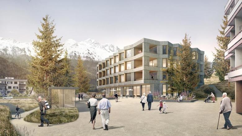 Auch St. Moritz will das neue Pflegezentrum