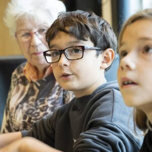 Spielplatz für das neue Alterszentrum: Jung und Alt planen gemeinsam