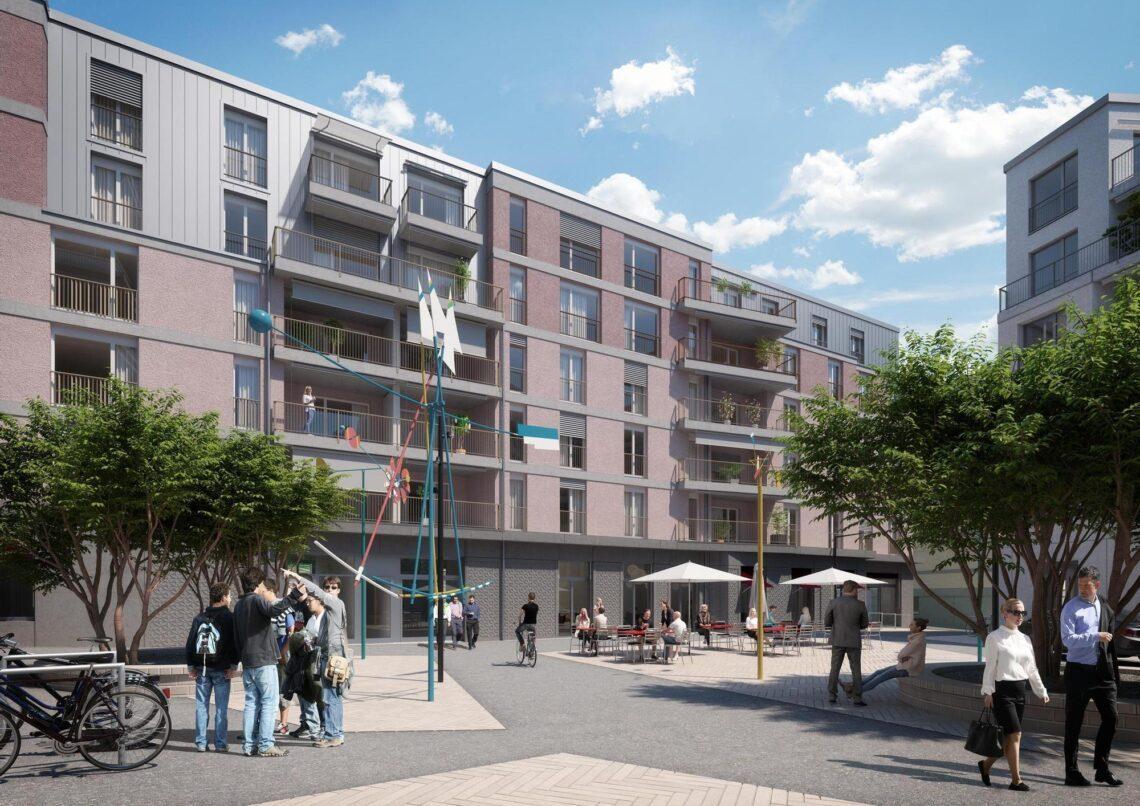 Im Frühsommer 2022 sind die ersten Wohnungen im Tertianum Bülach Glasi bezugsbereit.